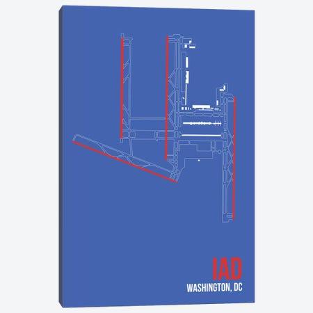 Washington, D.C. (Dulles) Canvas Print #OET143} by 08 Left Canvas Art Print