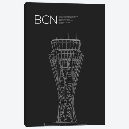 BCN Tower, Barcelona, Spain Canvas Print #OET156} by 08 Left Canvas Art Print
