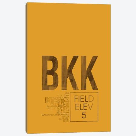 BKK Air Traffic Control, Bangkok Canvas Print #OET157} by 08 Left Art Print
