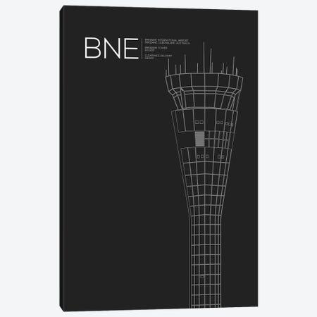 BNE Tower, Brisbane International Airport Canvas Print #OET159} by 08 Left Canvas Artwork