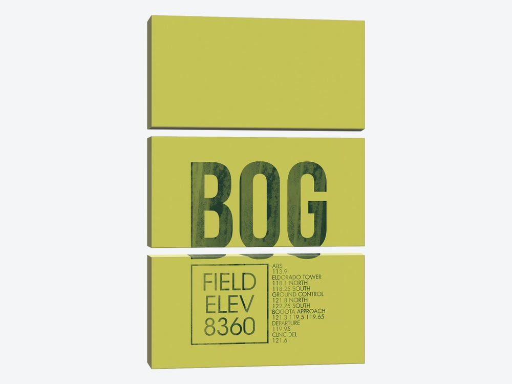 BOG Air Traffic Control, Bogota, Colombia by 08 Left 3-piece Canvas Artwork