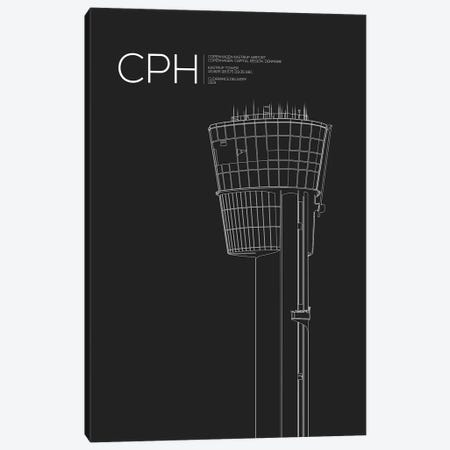 CPH Tower, Copenhagen Canvas Print #OET162} by 08 Left Art Print