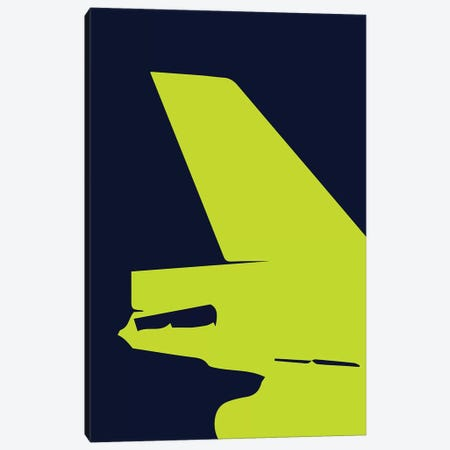 DC-10 Tail Canvas Print #OET163} by 08 Left Canvas Print
