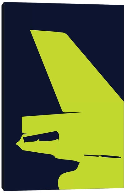 DC-10 Tail Canvas Art Print