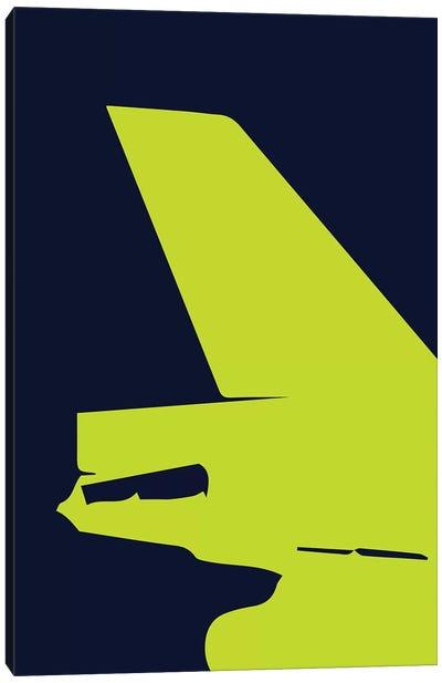 DC-10 Tail Canvas Art Print