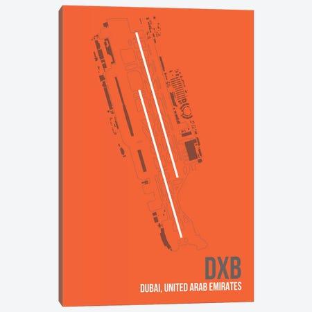 DXB Diagram, Dubai, United Arab Emirates Canvas Print #OET166} by 08 Left Canvas Artwork