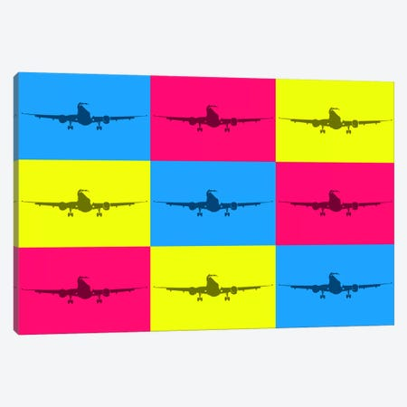 Fly With A Color Canvas Print #OET170} by 08 Left Canvas Wall Art