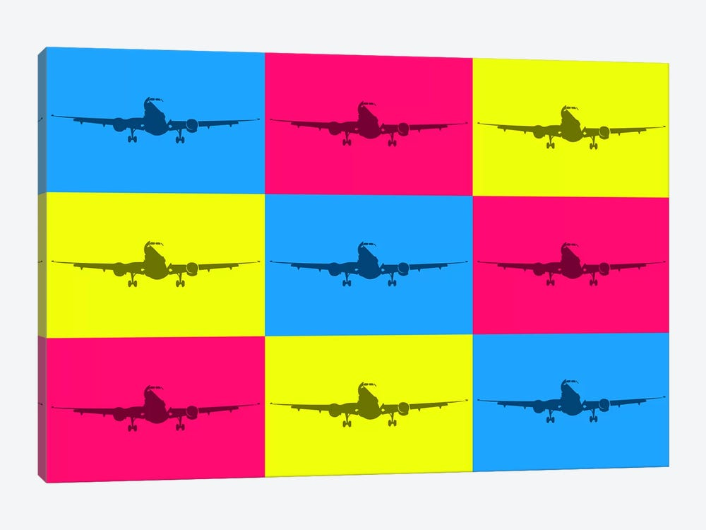 Fly With A Color by 08 Left 1-piece Canvas Print