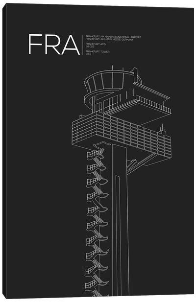 FRA Tower, Frankfurt International Airport Canvas Art Print