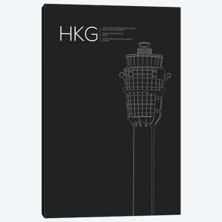 HKG Tower, Hong Kong International Airport Canvas Print #OET173} by 08 Left Canvas Art