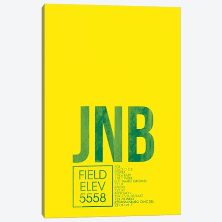 JNB Air Traffic Control, Johannesburg Canvas Print #OET175} by 08 Left Canvas Art Print