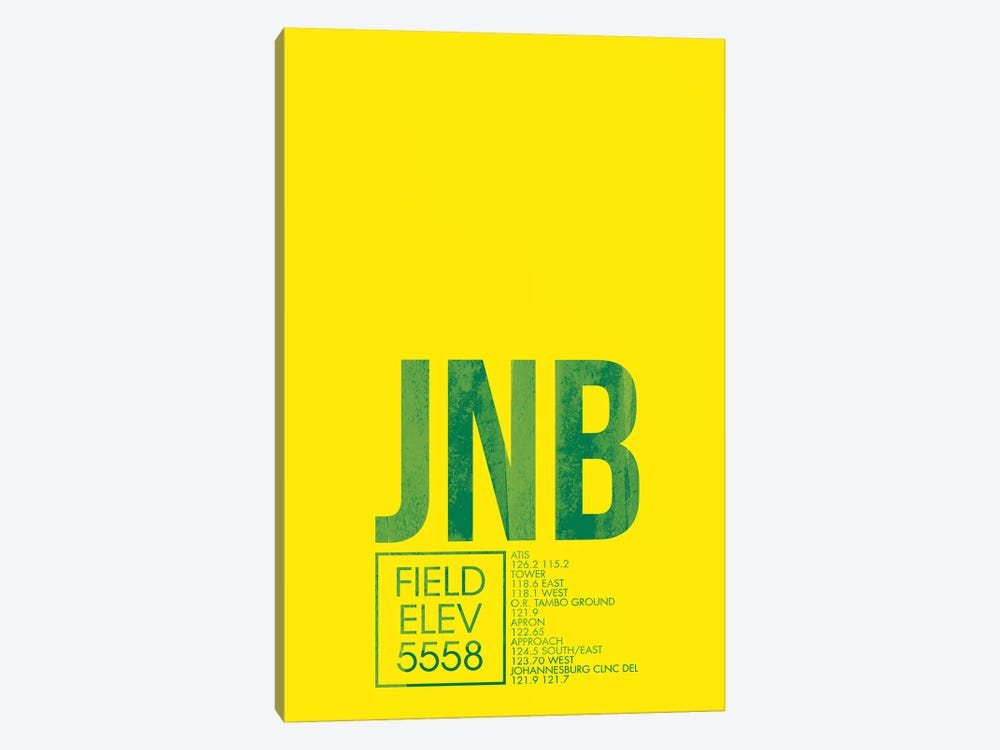 JNB Air Traffic Control, Johannesburg by 08 Left 1-piece Canvas Wall Art