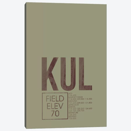 KUL Air Traffic Control, Kuala Lumpur, Malaysia Canvas Print #OET176} by 08 Left Canvas Art Print