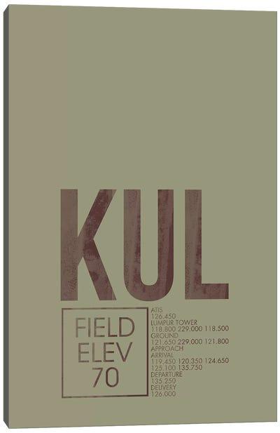 KUL Air Traffic Control, Kuala Lumpur, Malaysia Canvas Art Print