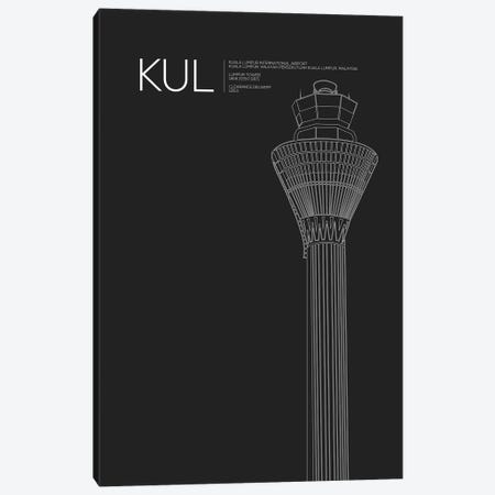 KUL Tower, Kuala Lumpur International Airport Canvas Print #OET177} by 08 Left Art Print