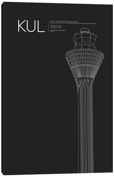 KUL Tower, Kuala Lumpur International Airport Canvas Art Print