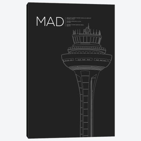 MAD Tower, Madrid, Spain Canvas Print #OET179} by 08 Left Canvas Art