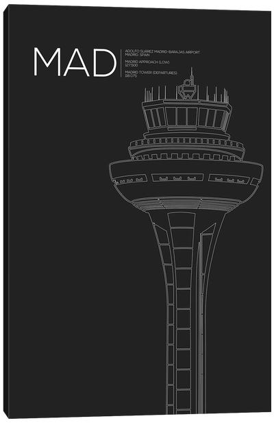 MAD Tower, Madrid, Spain Canvas Art Print