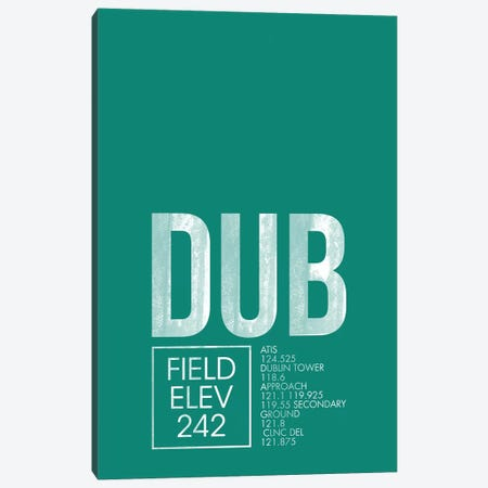 Dublin Canvas Print #OET17} by 08 Left Canvas Artwork