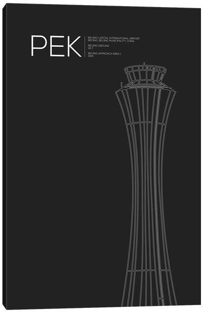 PEK Tower, Beijing Capital International Airport Canvas Art Print