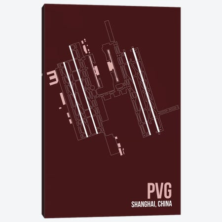 PVG Diagram, Shanghai Canvas Print #OET184} by 08 Left Canvas Artwork