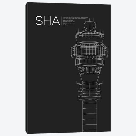 SHA Tower, Shanghai International Airport Canvas Print #OET186} by 08 Left Canvas Artwork