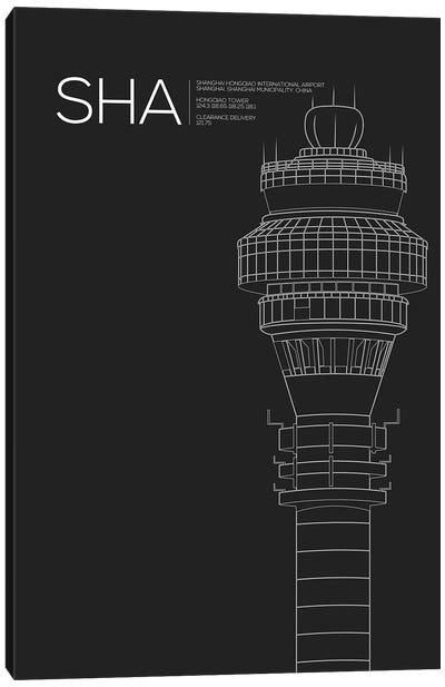 SHA Tower, Shanghai International Airport Canvas Art Print