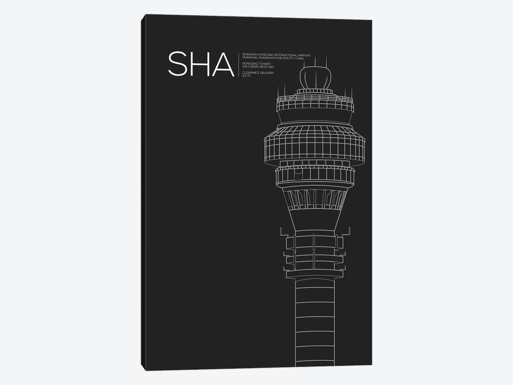 SHA Tower, Shanghai International Airport by 08 Left 1-piece Canvas Artwork
