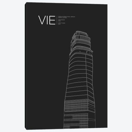 VIE Tower, Vienna International Airport Canvas Print #OET190} by 08 Left Canvas Artwork