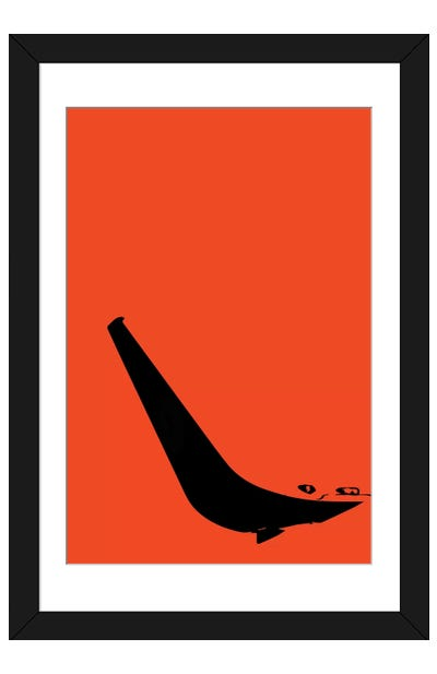 Winglet Framed Art Print