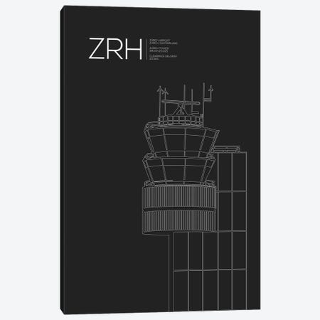 ZRH Tower, Zurich Airport Canvas Print #OET199} by 08 Left Canvas Art