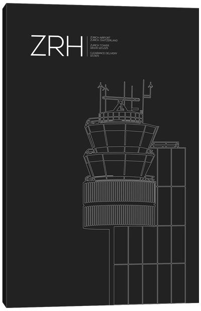 ZRH Tower, Zurich Airport Canvas Art Print