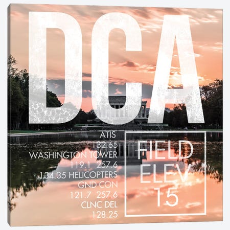 DCA Live Canvas Print #OET229} by 08 Left Canvas Wall Art