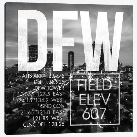 DFW Live Canvas Print #OET232} by 08 Left Canvas Art Print
