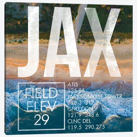 JAX Live Canvas Print #OET248} by 08 Left Canvas Art