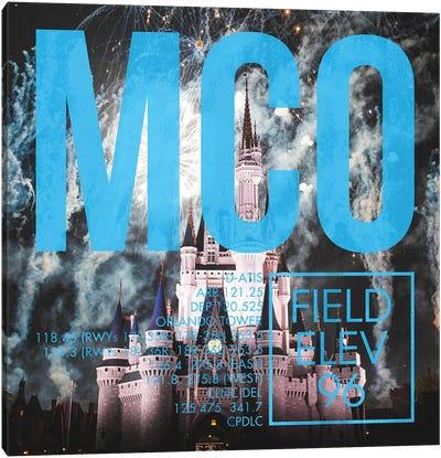 MCO Live Canvas Art Print