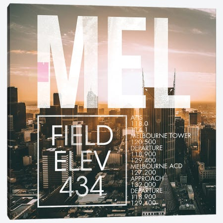 MEL Live Canvas Print #OET260} by 08 Left Canvas Wall Art