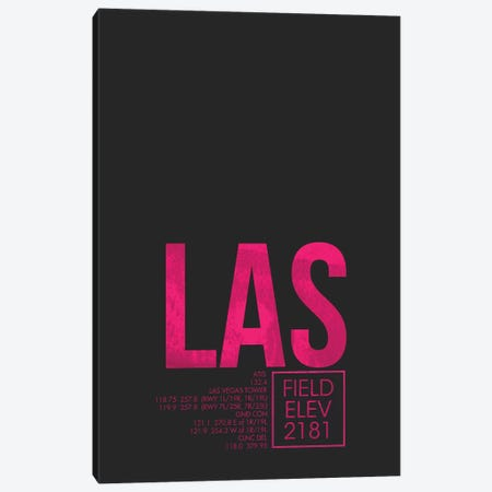 Las Vegas (McCarran) Canvas Print #OET27} by 08 Left Canvas Print