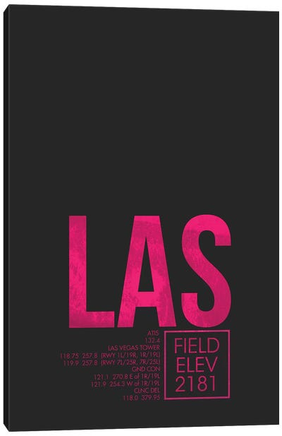 Las Vegas (McCarran) Canvas Art Print
