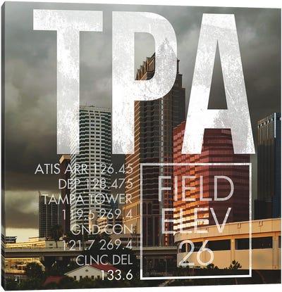 TPA Live Canvas Art Print