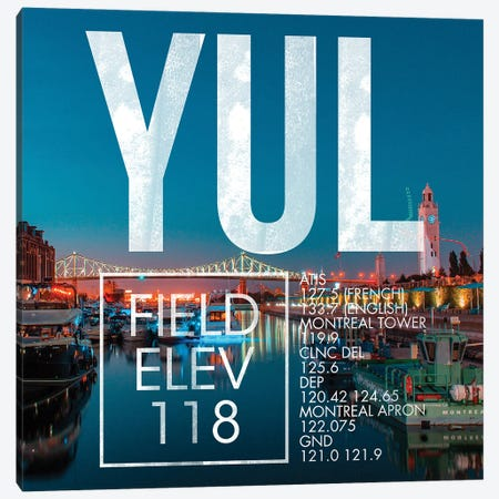 YUL Live Canvas Print #OET289} by 08 Left Canvas Art