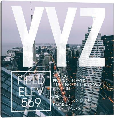 YYZ Live Canvas Art Print
