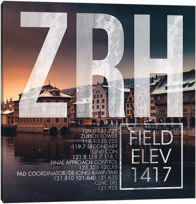 ZRH Live Canvas Art Print