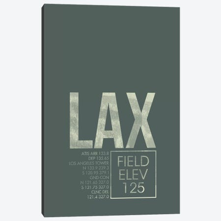 Los Angeles Canvas Print #OET29} by 08 Left Canvas Art