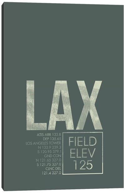 Los Angeles Canvas Art Print