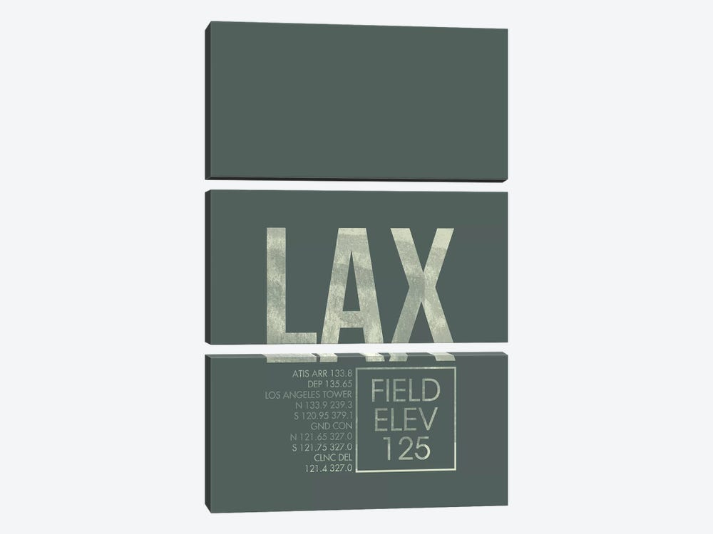 Los Angeles by 08 Left 3-piece Art Print