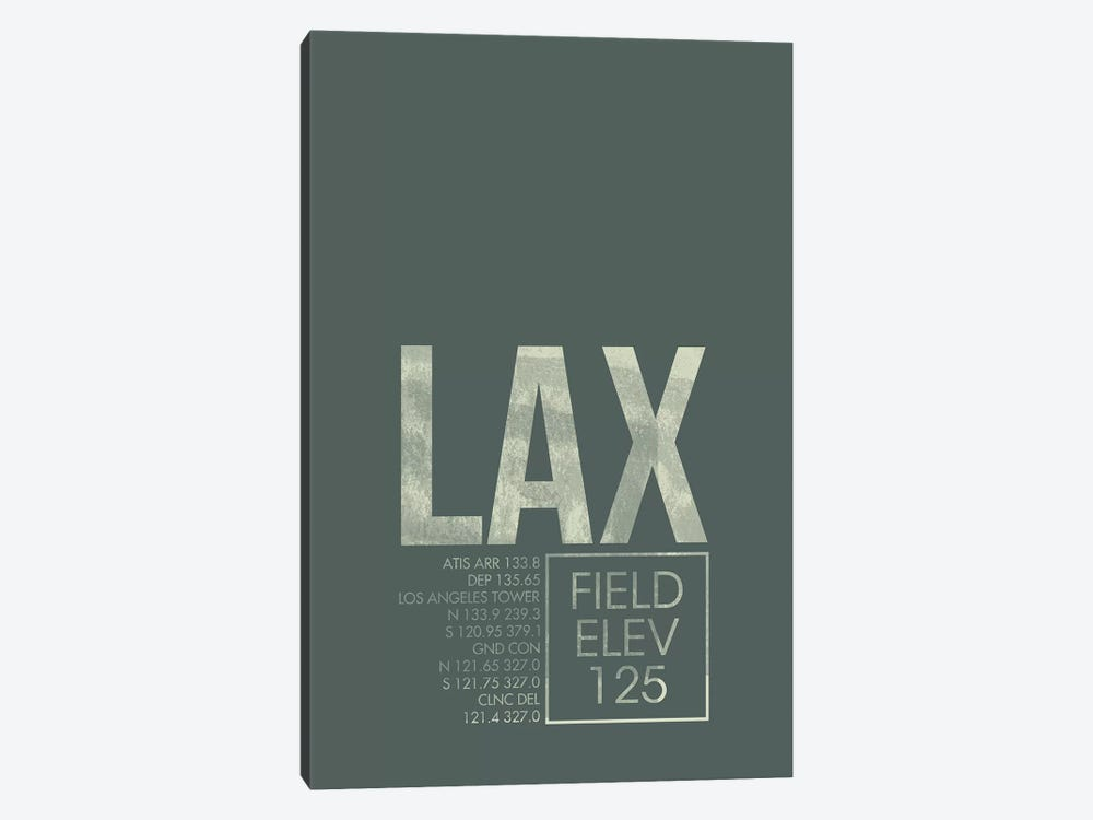Los Angeles by 08 Left 1-piece Art Print