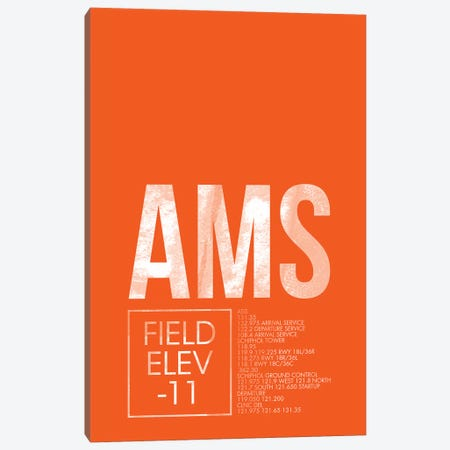 Amsterdam Canvas Print #OET2} by 08 Left Art Print
