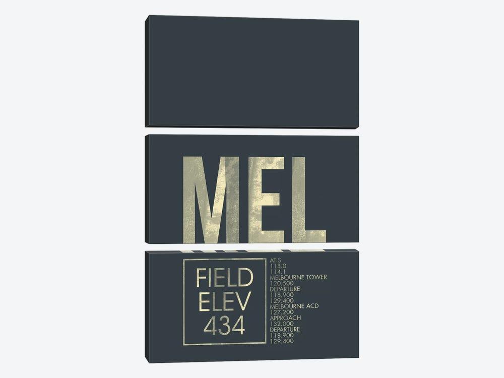 Melbourne by 08 Left 3-piece Canvas Art Print