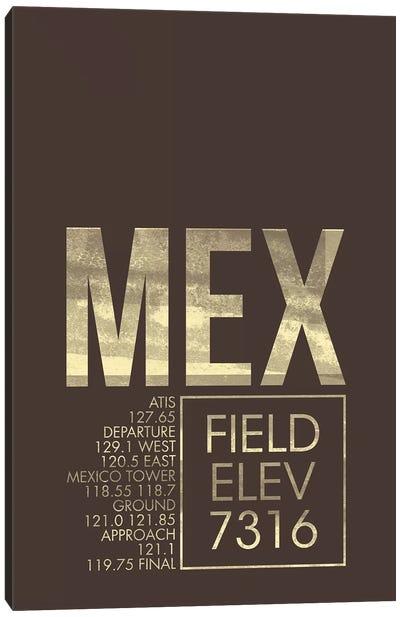 Air Traffic Control Series: Mexico City (Benito Juarez) Canvas Print #OET33